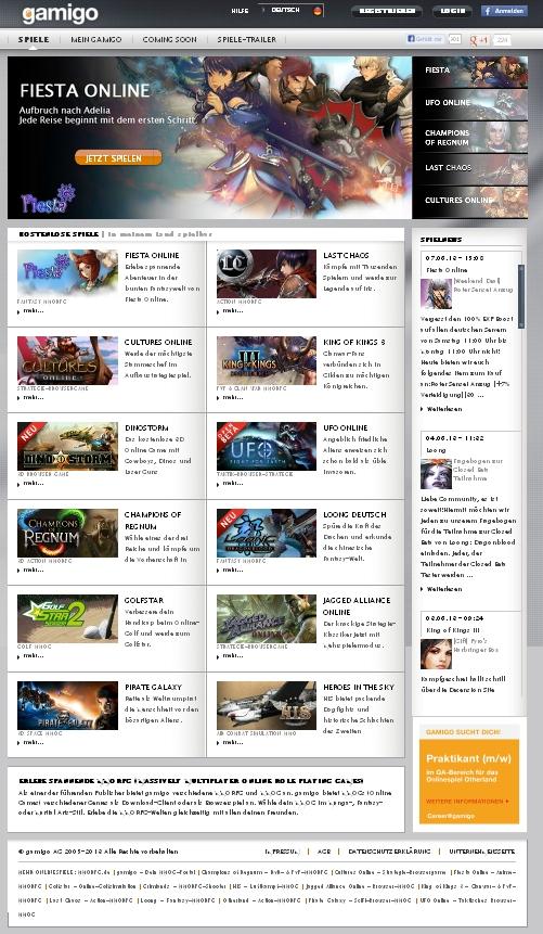 Gamigo-Online Spiele: Bald auch für mehr Nachhaltigkeit?